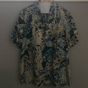 Pre-loved Banana Republic silk blouse
